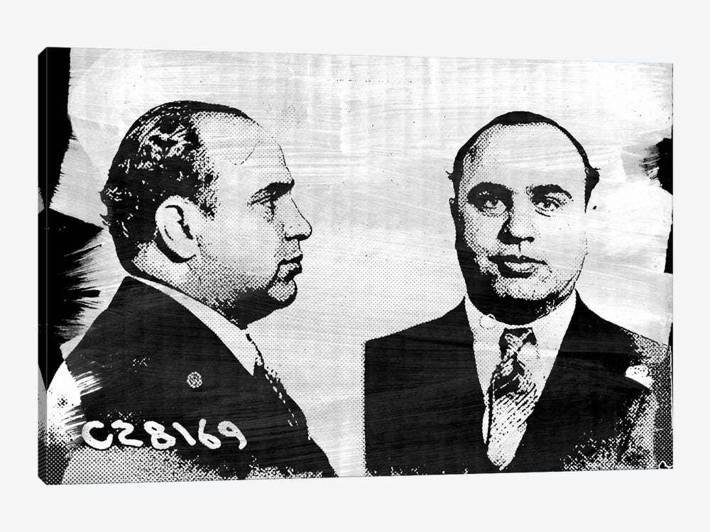Capone Impression #2 by iCanvas 1-piece Canvas Art