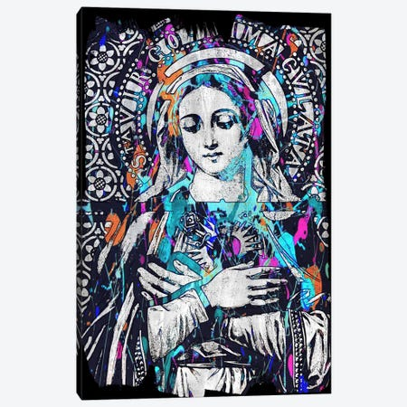 Madonna Impressions #2 Canvas Print #UVP16a} by Unknown Artist Art Print
