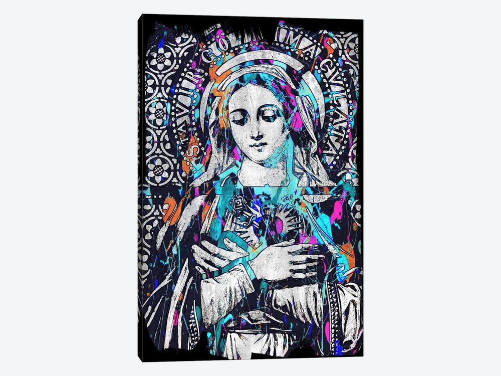 Madonna Impressions #2 by Unknown Artist 1-piece Canvas Artwork