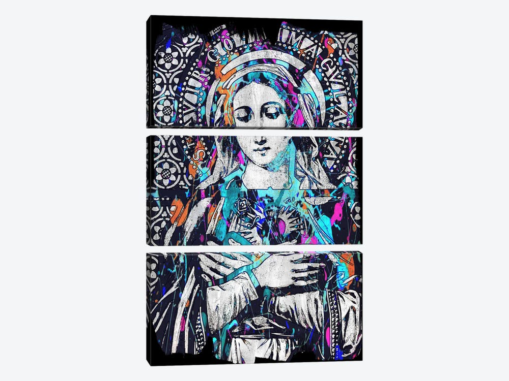 Madonna Impressions #2 3-piece Canvas Artwork
