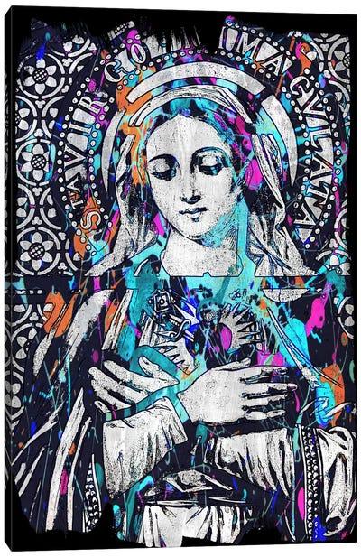 Madonna Impressions #2 Canvas Art Print