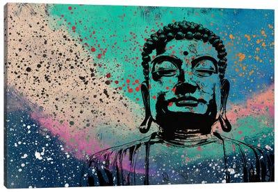 Buddha Impressions #2 Canvas Print #UVP17b