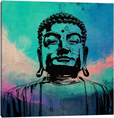 Buddha Impressions #3 Canvas Print #UVP17c