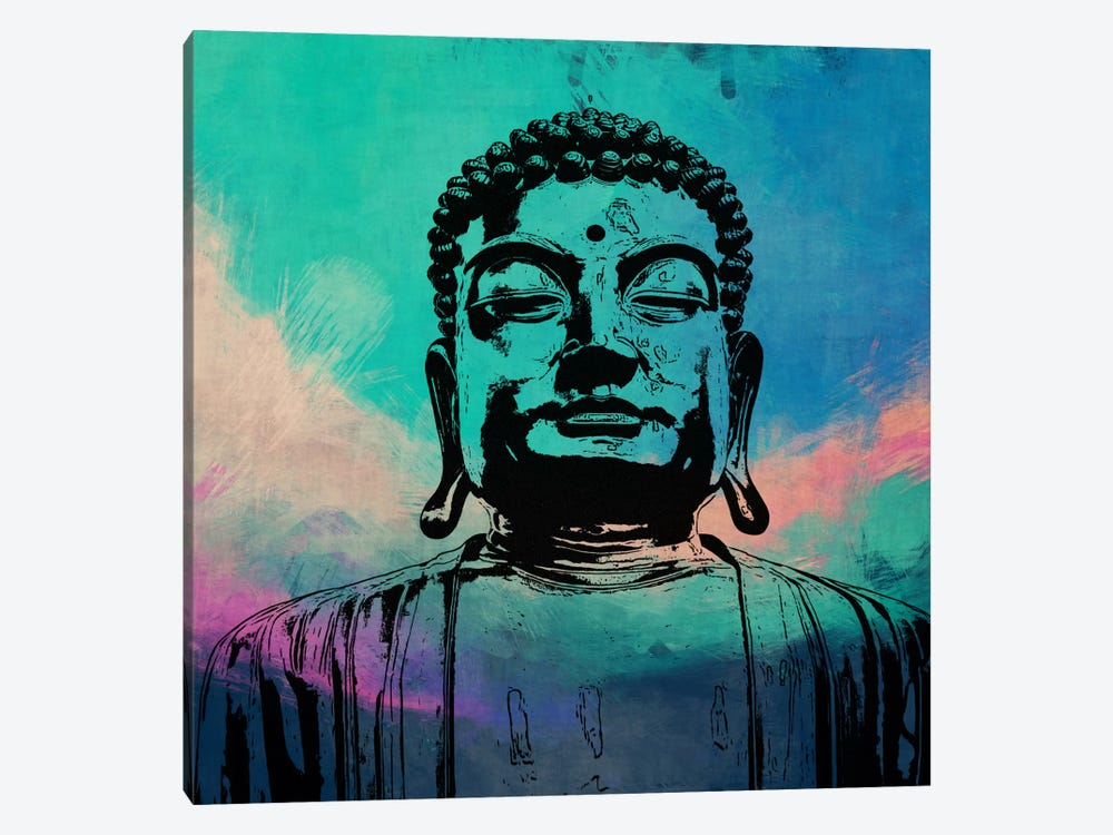 Buddha Impressions #3 by iCanvas 1-piece Canvas Art Print