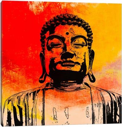 Buddha Impressions #4 Canvas Print #UVP17d
