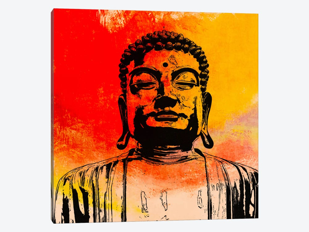 Buddha Impressions #4 by Unknown Artist 1-piece Canvas Artwork