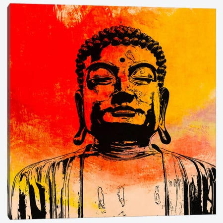 Buddha Impressions #4 Canvas Print #UVP17d} by Unknown Artist Canvas Art Print