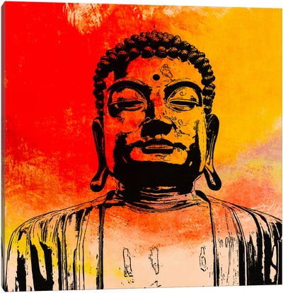 Buddha Impressions #4 Canvas Art Print