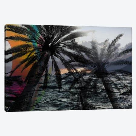 Dark Rainbow in the Storm Canvas Print #UVP21b} by Unknown Artist Canvas Print