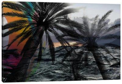 Dark Rainbow in the Storm Canvas Art Print