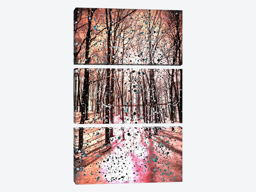 Birches Impression by iCanvas 3-piece Canvas Wall Art
