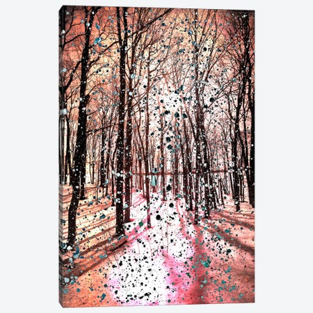 Birches Impression Canvas Print #UVP22} by Unknown Artist Canvas Art