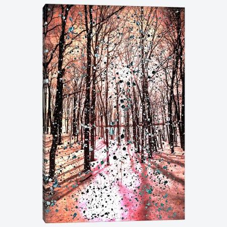 Birches Impression Canvas Print #UVP22} by Unknown Artist Canvas Art