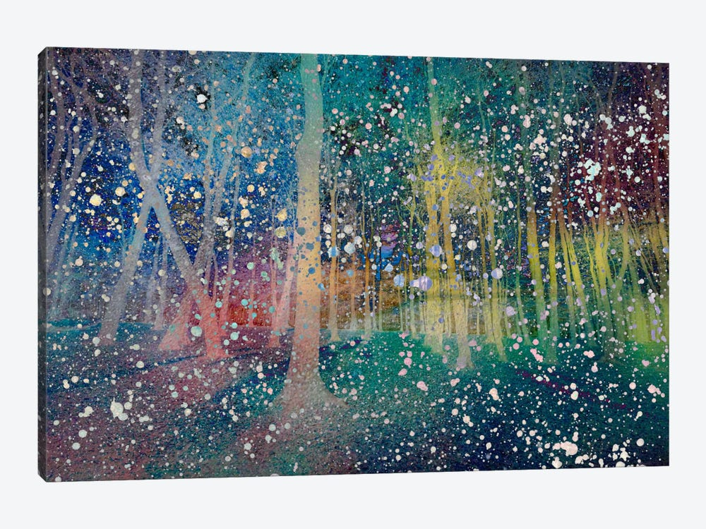 Birches Impression #2 by Unknown Artist 1-piece Canvas Art