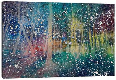 Birches Impression #2 Canvas Art Print