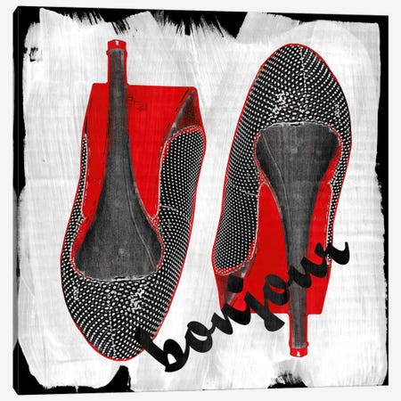 Bonjour Red Bottom Impression #6 Canvas Print #UVP41e} by Unknown Artist Canvas Artwork