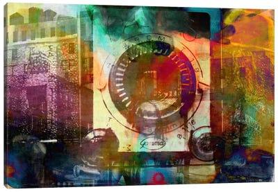 Retro Camera Impression Canvas Print #UVP48
