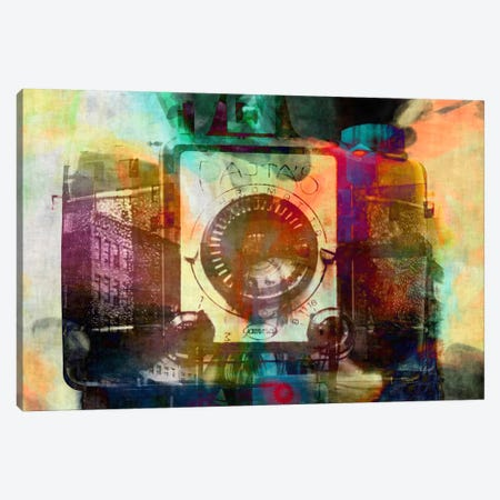 Retro Camera Impression #2 Canvas Print #UVP48a} by Unknown Artist Canvas Wall Art