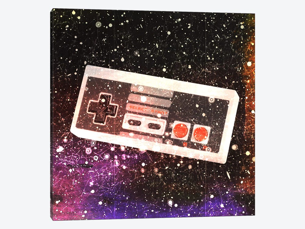 Galaxy Remote by Unknown Artist 1-piece Canvas Wall Art