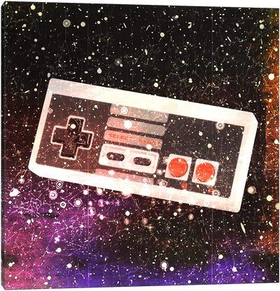 Galaxy Remote Canvas Art Print