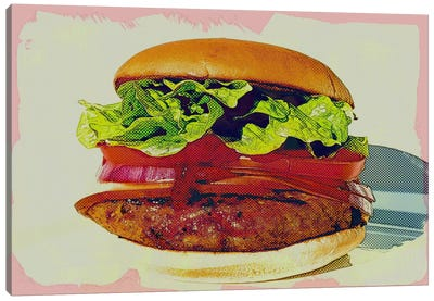 Big Tasty Canvas Art Print