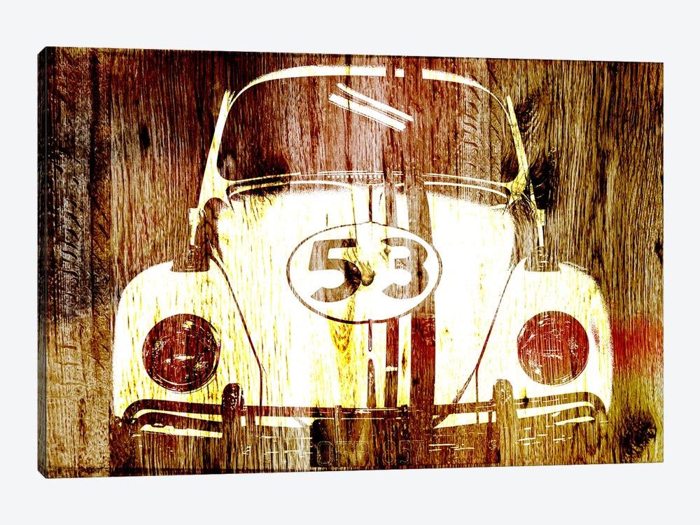 Buggy 53 Woodgrain by Unknown Artist 1-piece Canvas Artwork