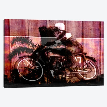 Palms Racer 17 Canvas Print #UVP69} by Unknown Artist Canvas Wall Art