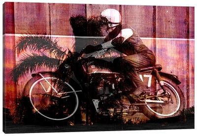 Palms Racer 17 Canvas Print #UVP69