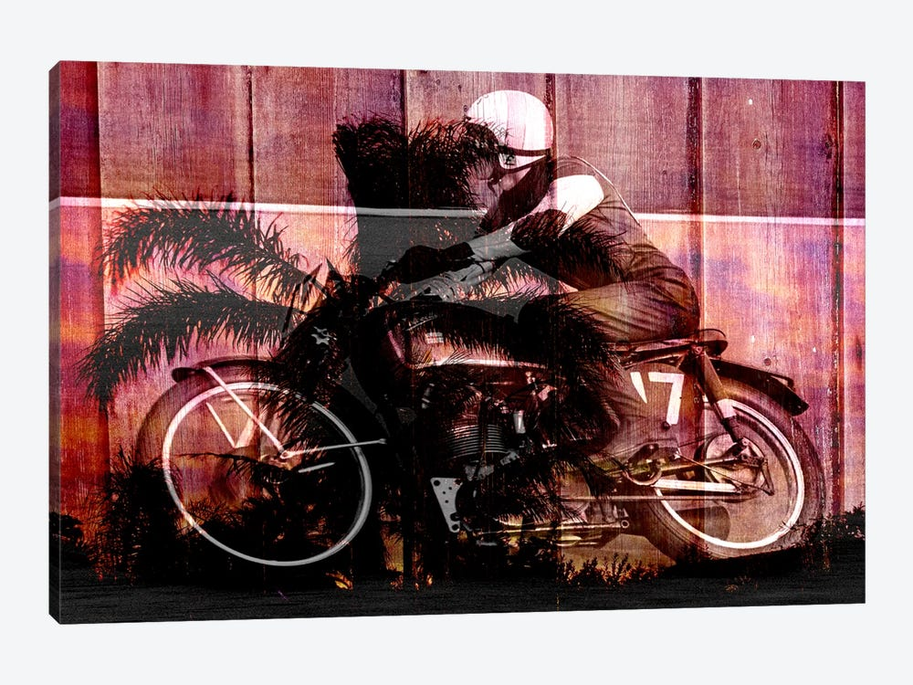 Palms Racer 17 by iCanvas 1-piece Art Print
