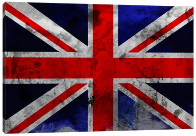 British Flag Canvas Art Print
