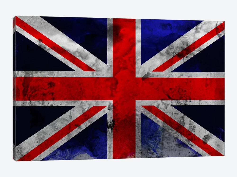 British Flag by iCanvas 1-piece Canvas Art Print