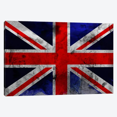 British Flag Canvas Print #Uvp19a} by Unknown Artist Canvas Artwork