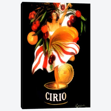 Cirio Canvas Print #VAC1005} by Vintage Apple Collection Canvas Artwork