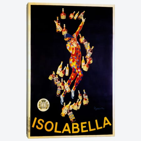 Isolabella Canvas Print #VAC1012} by Vintage Apple Collection Canvas Art