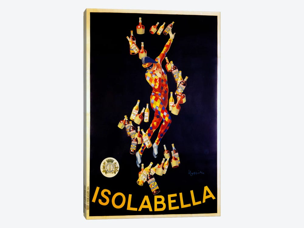 Isolabella by Vintage Apple Collection 1-piece Art Print