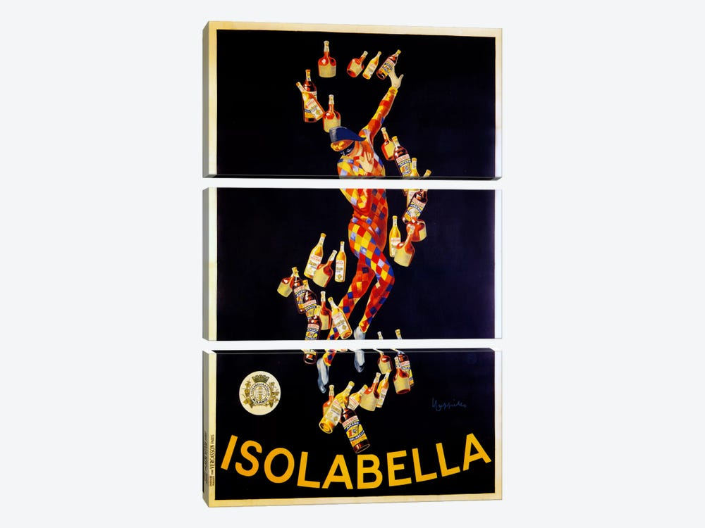 Isolabella by Vintage Apple Collection 3-piece Art Print