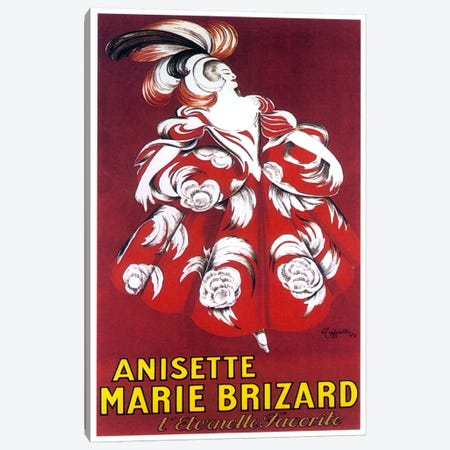 Marie Brizard Canvas Print #VAC1020} by Vintage Apple Collection Canvas Print