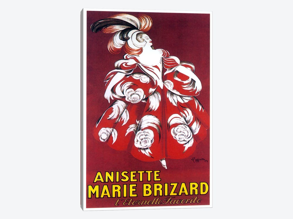 Marie Brizard by Vintage Apple Collection 1-piece Canvas Wall Art