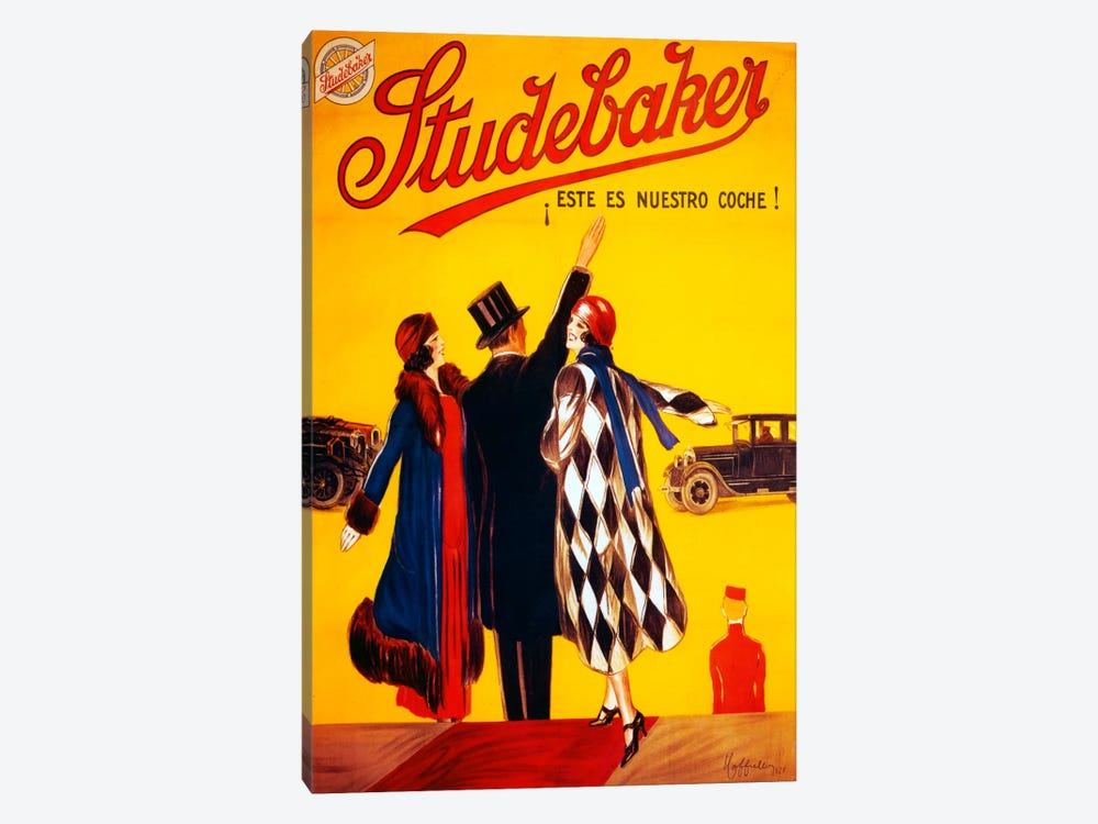 Studebaker by Vintage Apple Collection 1-piece Canvas Art