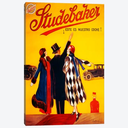 Studebaker Canvas Print #VAC1033} by Vintage Apple Collection Canvas Art