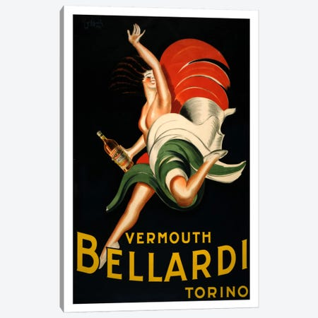 Vermouth_bellardi Canvas Print #VAC1035} by Vintage Apple Collection Canvas Print