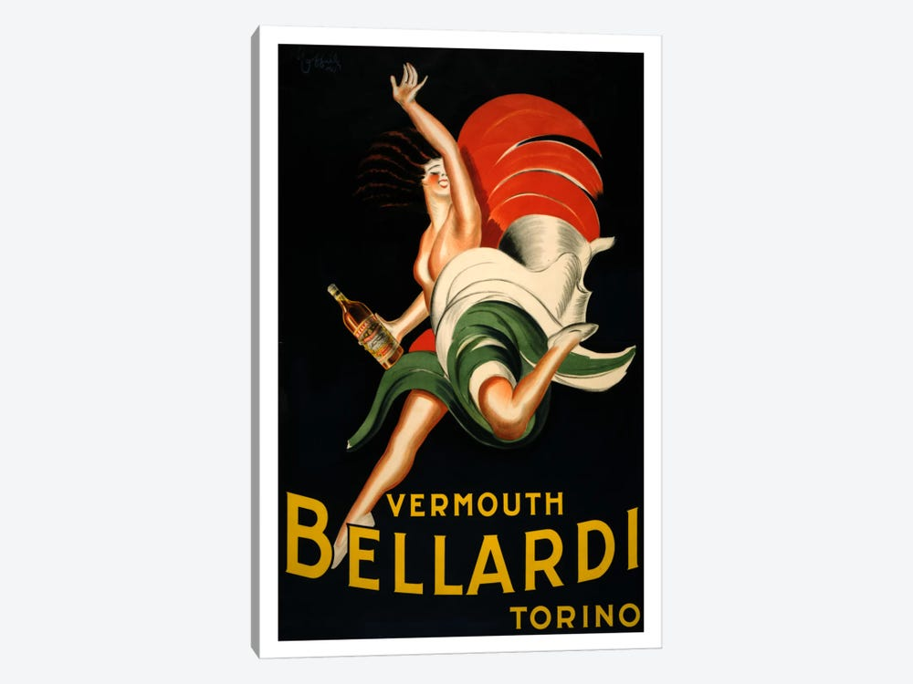 Vermouth_bellardi by Vintage Apple Collection 1-piece Canvas Artwork