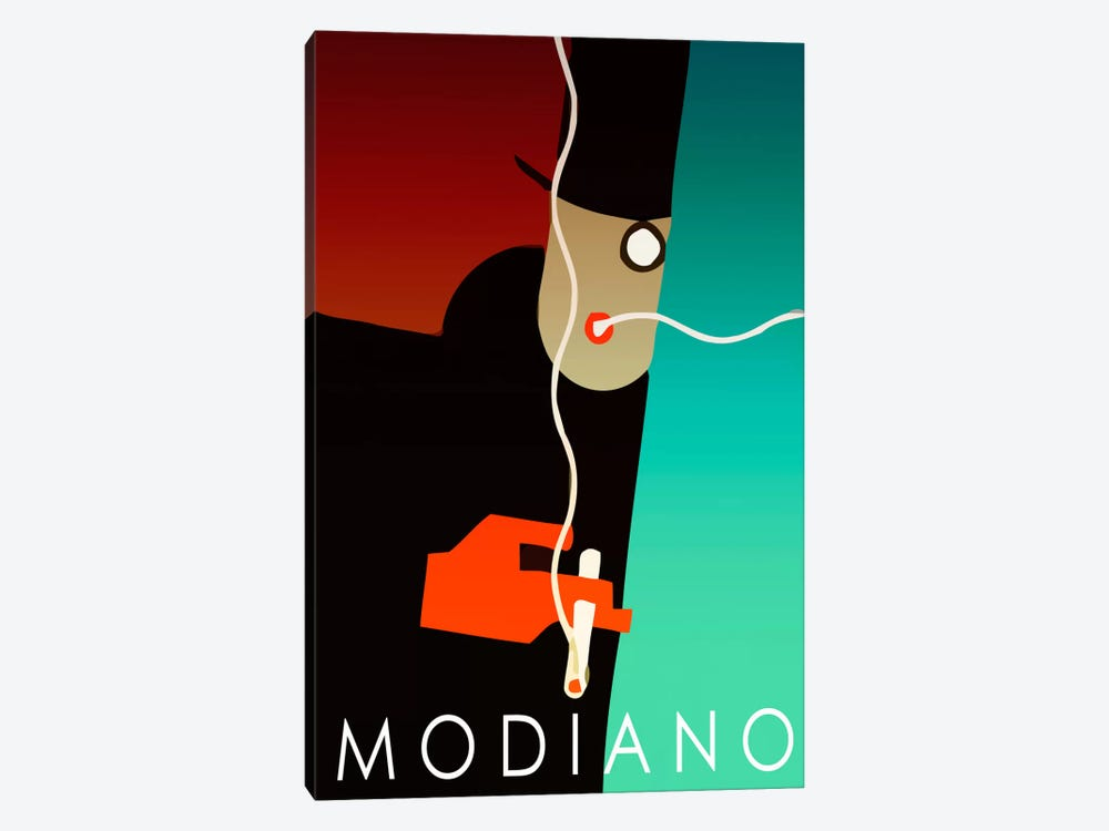 Modiano Cig by Vintage Apple Collection 1-piece Canvas Print