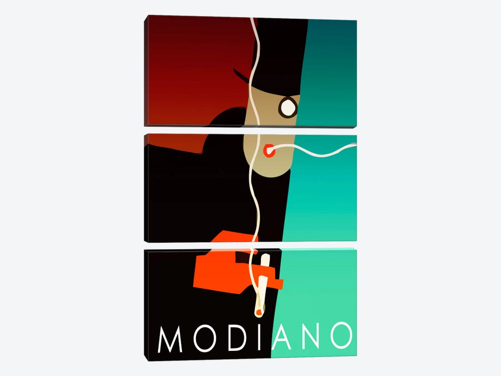 Modiano Cig by Vintage Apple Collection 3-piece Canvas Print