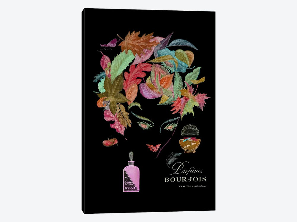 Parfums Bourjois by Vintage Apple Collection 1-piece Canvas Wall Art