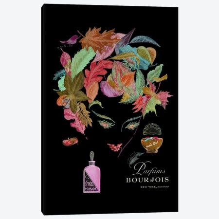 Parfums Bourjois Canvas Print #VAC110} by Vintage Apple Collection Canvas Art Print
