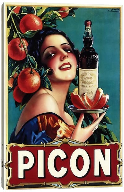Picon Liquor Canvas Print #VAC113