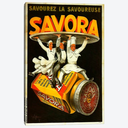 Savora Waiters Canvas Print #VAC116} by Vintage Apple Collection Canvas Artwork