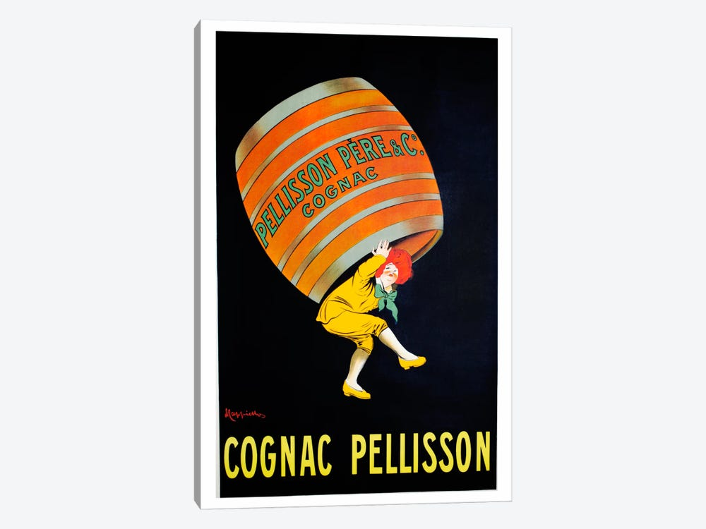 Cognac Pellisson 1-piece Canvas Print