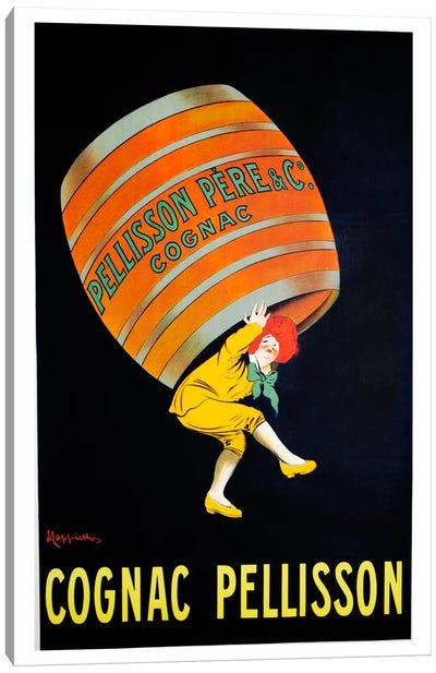Cognac Pellisson Canvas Art Print